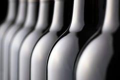 Weinflaschen Stockbild