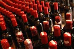 Weinflaschen Lizenzfreie Stockfotos