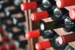 Weinflaschen stockfoto