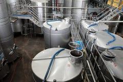 Weingärungswerkstatt Lizenzfreie Stockbilder