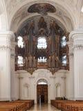Weingarten, interior of the church Stock Photo