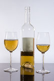 Weingläser mit Wein Lizenzfreie Stockfotografie
