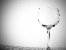 Weingläser verschieden lizenzfreies stockfoto