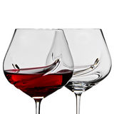 Weinglas Stockfoto