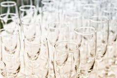Weinglas auf der Partei Lizenzfreies Stockfoto