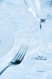 Weinglas auf der Tabelle Lizenzfreie Stockfotos