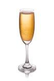 Weinglas lokalisiert auf weißem Hintergrund Lizenzfreies Stockbild