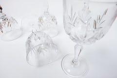 Weinglas verfassen Stockbilder
