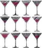 Weinglasillustration vektor abbildung