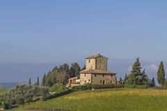 Weingut im Chianti Royalty Free Stock Image