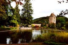 Weinheim parkerar Royaltyfria Bilder