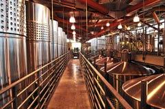 Weinherstellungausrüstung lizenzfreie stockfotografie