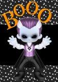 Weinig Achtergrond van het Boe-geroep van de Vampier Royalty-vrije Stock Foto's