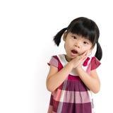 Weinig Aziatisch kind Stock Afbeeldingen