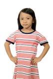 Weinig Aziatisch meisje Stock Fotografie