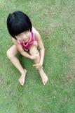 Weinig Aziatisch meisje Stock Foto