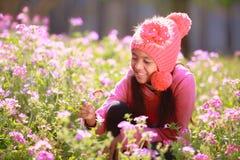Weinig Aziatisch meisje royalty-vrije stock foto's