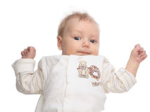 Weinig baby royalty-vrije stock afbeelding