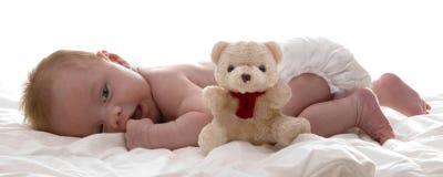 Weinig babyboy Royalty-vrije Stock Afbeeldingen