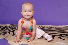 Weinig babymeisje Royalty-vrije Stock Foto's