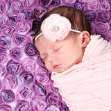 Weinig babymeisje stock foto's