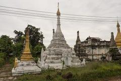 Weinig bagan pagode stock afbeeldingen