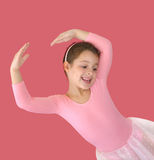 Weinig ballerina royalty-vrije stock foto