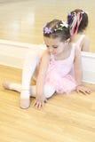 Weinig Ballerina Royalty-vrije Stock Afbeeldingen