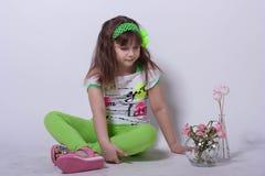 Weinig ballerina Stock Afbeelding