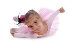 Weinig balletdanser Royalty-vrije Stock Foto's