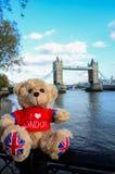 Weinig beer & torenbrug van Londen Royalty-vrije Stock Foto