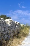 Weinig bekend Malta - Noordwestenmuur Royalty-vrije Stock Fotografie
