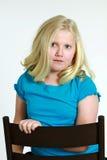 Weinig blond meisje 7 Royalty-vrije Stock Foto's