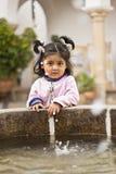 Weinig Boliviaans meisje Royalty-vrije Stock Foto's