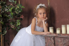 Weinig bruid Royalty-vrije Stock Foto
