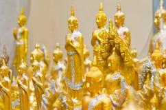 Weinig Buddhas Royalty-vrije Stock Foto