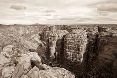 Weinig canion van Colorado Stock Fotografie
