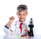 Weinig Chemicus royalty-vrije stock fotografie