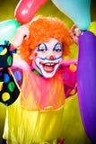 Weinig clown stock foto