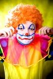 Weinig clown royalty-vrije stock foto