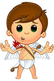 Weinig Cupidokarakter stock illustratie