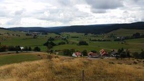 Weinig dorp Stock Foto's