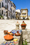 Weinig dorp in Italië Stock Foto