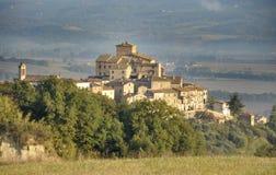 Weinig dorp van Fabro Royalty-vrije Stock Foto