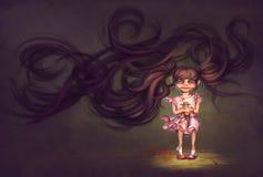 Weinig duivel, Halloween vector illustratie