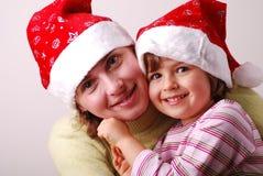 Weinig engel met moeder Royalty-vrije Stock Foto