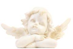 Weinig engelenbeeldje Stock Afbeelding