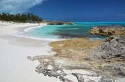 Weinig Exuma, de Bahamas Stock Fotografie