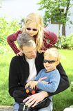 Weinig familie Stock Fotografie