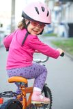 Weinig fietser Stock Fotografie